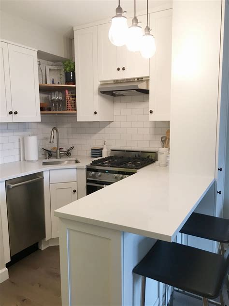 small apartment kitchen from gut to gorgeous a complete studio apartment makeover