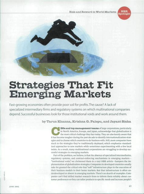 strategies that fit emerging markets pdf strategies that fit emerging markets