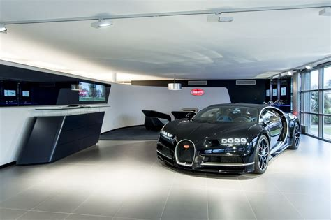 Ganz Neu Bugatti Showroom In Genf Magazin