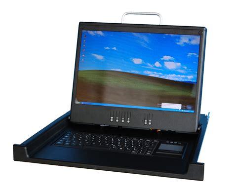 Lcd Fokus 1920x1200 lcd konsole mit 17 quot widescreen dvi vga ps2