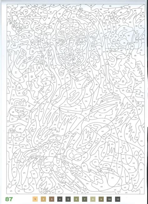 coloriages mystres die 25 besten ideen zu malen nach zahlen erwachsene auf bilder collage erstellen