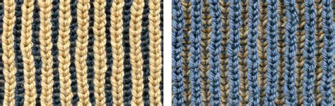 brioche knitting with two colors 2 color brioche stitch brioche stitch