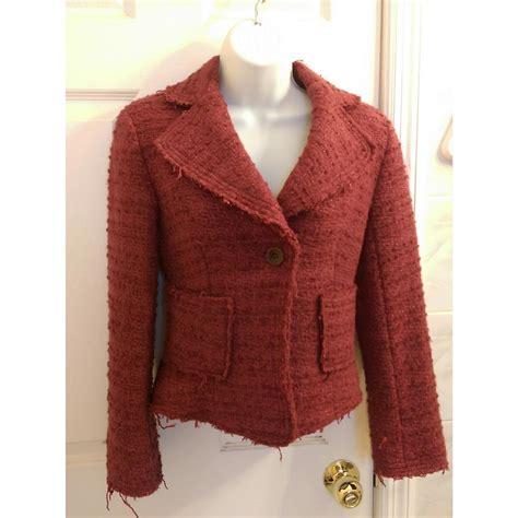 Zara Backpack Tweed zara tweed jacket fuchsia blazer on tradesy