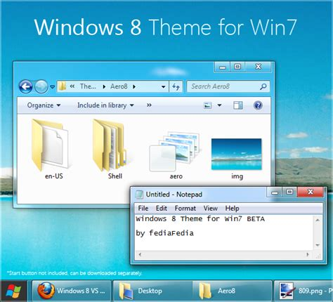 download theme windows 7 to 8 windows 8 theme for windows 7 download now