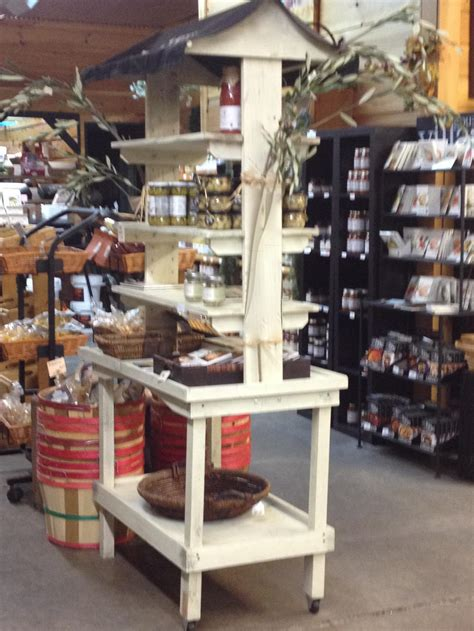 Store Shelfs by Rustic Wood Retail Store Product Display Fixtures