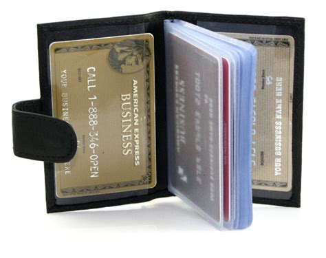 card holder compact snap card holder
