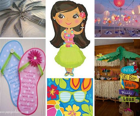 hawaiian themed party games luau party ideas summer party ideas at birthday in a box