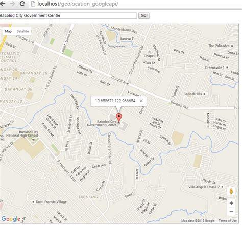 html geolocation tutorial geolocation google map api free source code tutorials