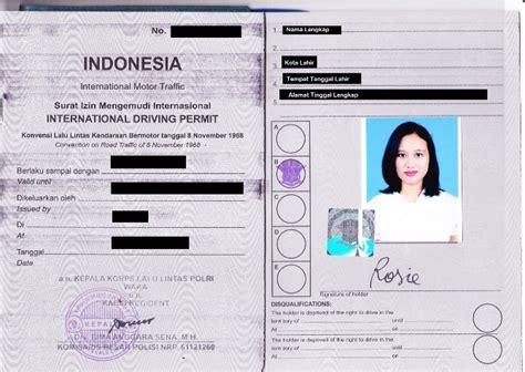 harga membuat sim internasional cara membuat surat izin mengemudi sim internasional