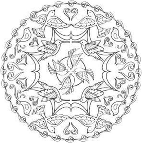 bird mandala coloring pages coloring pages bird mandala coloring pages