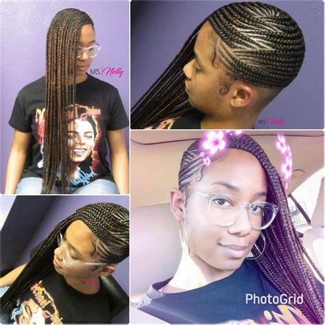 lemonade braids style 05 hair style black girls and lemonade braids feeder braids side braids beyonce