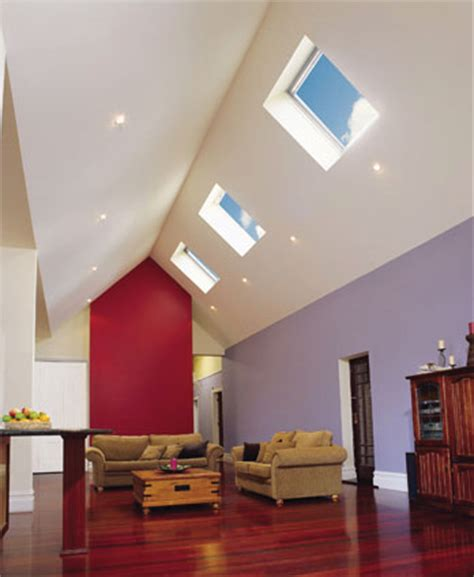 Canned Lights In Ceiling With One Side Angled - skylights yourhome