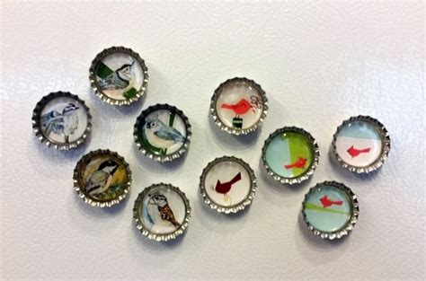 recycled cards crafts recycled card craft magnets allcrafts free