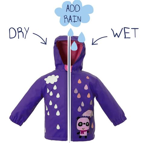 color changing jacket child s colour changing panda jacket by squid