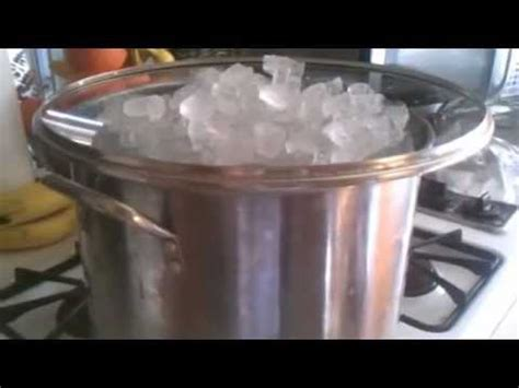 how to make distilled water youtube