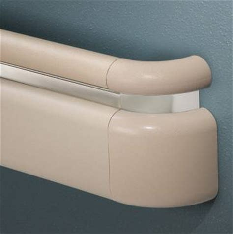 Inpro Handrail healthier hospital handrails apply antimicrobial infused pvc plasticstoday