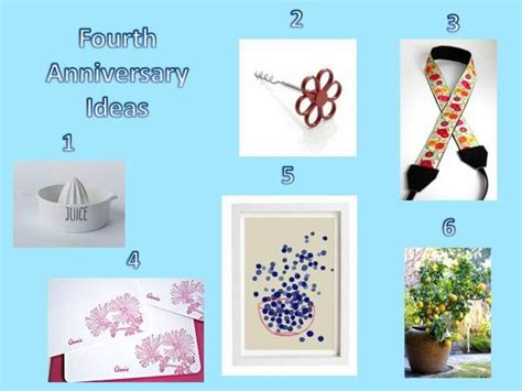 17 best ideas about 4th anniversary gifts on 4th anniversary anniversary gifts and