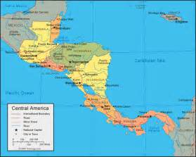 Central America Map In Spanish by Mexico And Central America Dmascotti