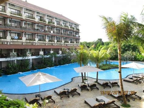Hotel Swiss Bell Di Bali view from top picture of swiss belhotel segara resort