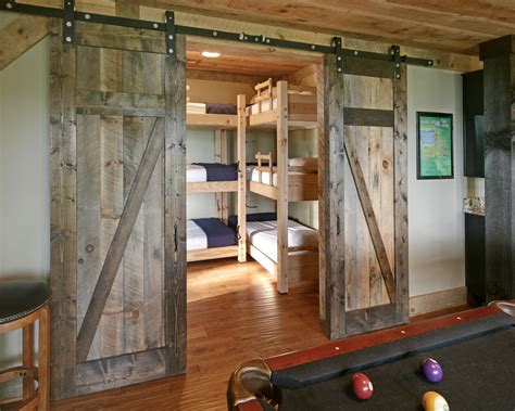 barn door inside house bedroom design ideas with barn door home design garden