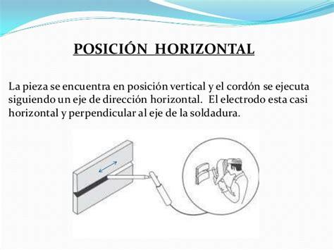oscilacion soldadura soldadura por electrodos posiciones de soldadura
