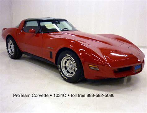1982 corvettes for sale classic corvette for sale 1982 1034c