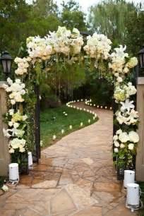 Backyard Wedding Entrance Boda Con Poco Presupuesto Trucos Para Poder Organizarla