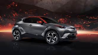 Power Toyota Toyota C Hr Hy Power Concept Previews A Sportier Hybrid