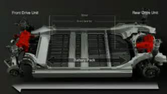 Electric Car Backup Engine Tesla Model X All Electric Crossover Unveiled And Detailed