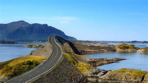 the most scenic drives in america can you handle a drive across the infamous atlantic ocean