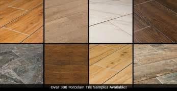 porcelain tile that looks like wood vs hardwood vs vinyl