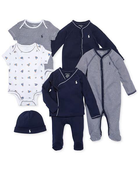 Rpl2003d Setelan Polo Baby Boy Sale ralph nestled in navy gift bundle baby boys