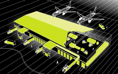 13 air cargo warehouse sketch joe shoulak graphics