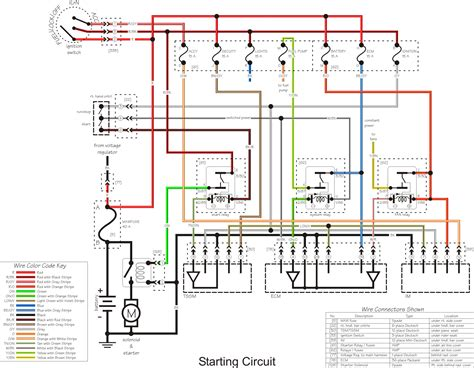 ignition wiring diagram 1130cc the 1 harley davidson v