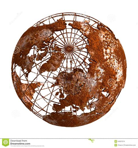 brown what being brown in the world today means to everyone books rust earth planet 3d globe stock photo image 54537214