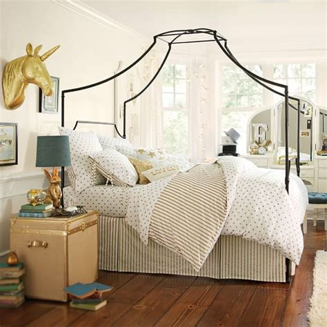 pb teen beds maison canopy bed pbteen