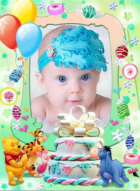 decorar fotos en linea gratis ondapix marco para fotos de cumplea 241 os infantiles fotomontajes