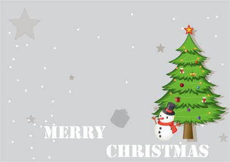 Tree Christmas Card Free Tree Christmas Card Templates Tree Card Template