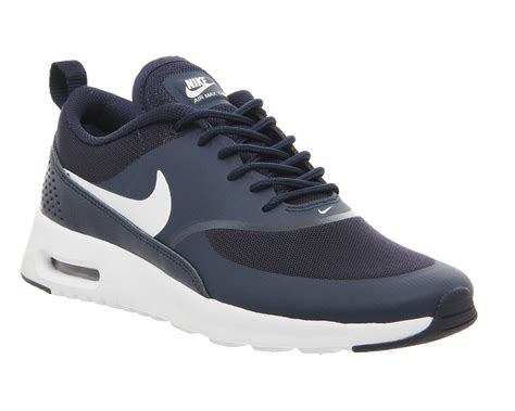 qualified nike air max thea ladies trainers obsidian white