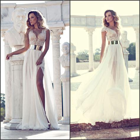 pattern white wedding dress wow aliexpress com buy unique a line v neck cap sleeve