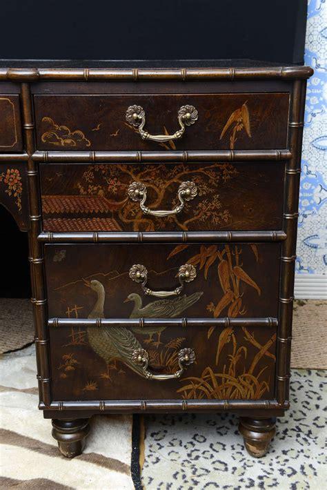 Vintage Henredon Furniture by Vintage Henredon Chinoiserie Desk At 1stdibs