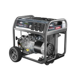 shop briggs stratton stormresponder  running watts portable generator  lowescom