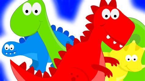 dinosurs for kids dinosaurs teaching colors learning colours video for kids place 4 kids