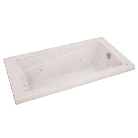 Home Depot Bathtubs With Jets by Keystone By Maax Loft 6032 White Whirlpool Tub With 10