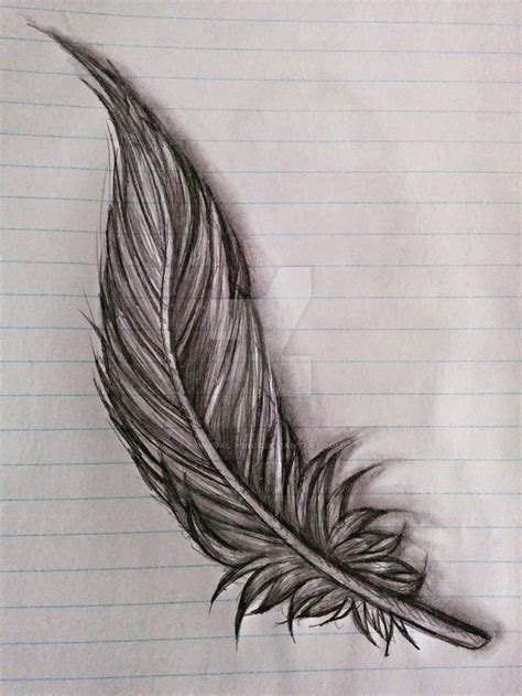 tattoo feather drawing 25 best ideas about feather sketch on pinterest feather