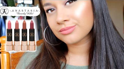 Anastacia Set matte lipstick set