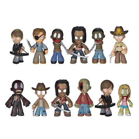 Lego Mini Figure Walking Dead 3 the walking dead mystery minis series 2 mini figure 4 pack