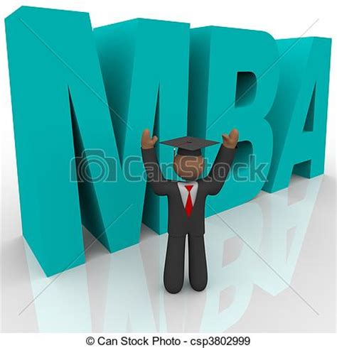 Of Mba Not Accredited by Stock Illustration Of Mba Letters And Business The
