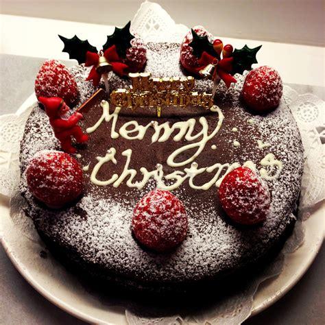 christmas chocolate cake decorations nice decoration