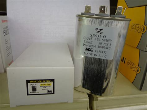 air conditioner capacitor 370 vac 50 5 370 volt oval capacitor american mobile home supply